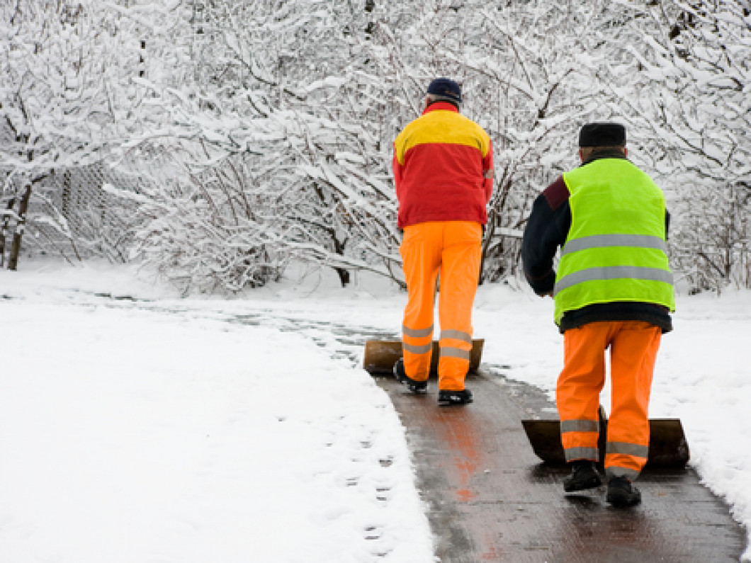 Get a head start on snow and ice removal